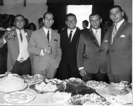 Nuno Roque, Julio Sousa, Tavares, Souza Machado e Mata Alves