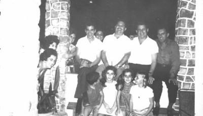 Casal Brasinha, Casal Mendonça, Casal Tavares e Rui Inácio, Paulo Pinto, Fatinha e Isabella Mendonça e Guida Tavares