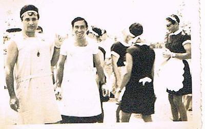 Andrada 1967 nos campos de jogos em frente as Oficinas Tomaz, Miguel Martins, amigos