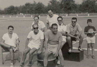 Malúdi 1960 Rosa, Caldas, ?, Pinho Barros e filho Ze' Manel ? Cerejeira e Sousa