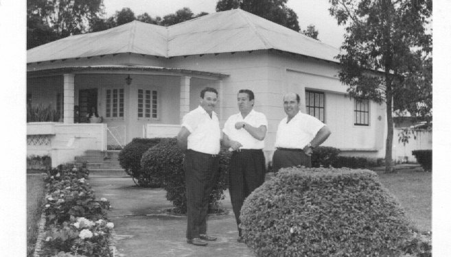 Lucapa Mendonça, Tavares e A. Teixeira