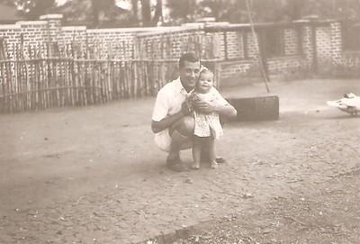 Victor Santos e filha Tininha