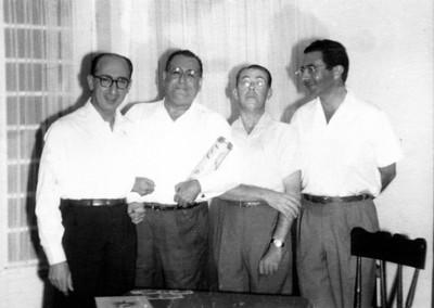 1961, Dundo, Dezembro Dr. Rocha Afonso e...