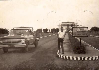Dundo - Radio centro emissor,  Manuel Fraga Pinheiro