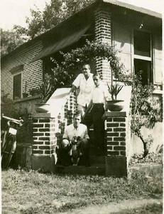 Vitor Santos, Rogério Afonso e  enfermeiro Olímpio de Sousa