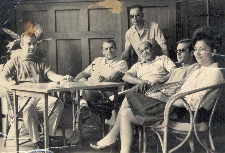 Casal Benamor, Braziel, ?, Cerejeira e Augusto Simões