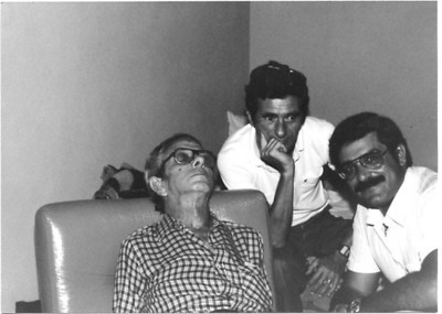 Luis Costa, Rui Barbosa, Luis Maldonado, Dundo/1980