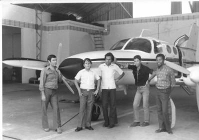 Camaquenzo - hangar Filho de Arlindo Matos e ?