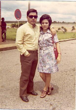 Aeroporto do Dundo - 1972  Carlos Aires Marques e Elisa Pereira Santos