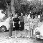 Chitato -?, ?, Helena Duarte, ?, Paula Pinho Barros e Mariazinha Pinho Barros