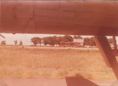 1973 - Aeroporto do Chitato