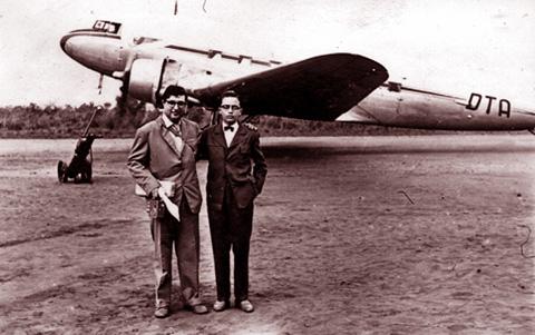 Chitato, 1959 DC-3  Adao Barata e  Luna de Carvalho