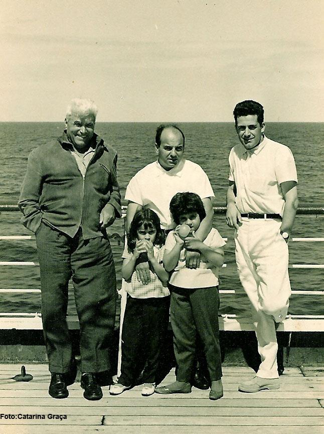 Vera Cruz  Marrucho, Jorge Graça e filhas Catarina e Pompom, e Mendes