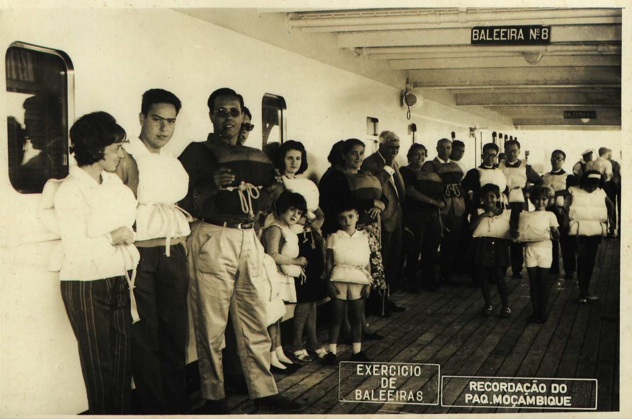 Paquete Mocambique1963  Casal Dias Mendes, Madeira Rosa