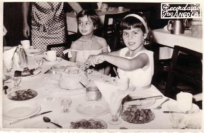 Paquete Angola, 1962 - Viagem Lisboa-Luanda  6º aniversário da Ana Maria Josefa
