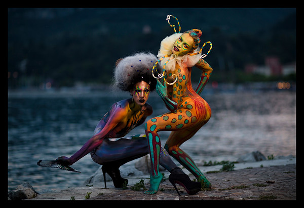 ARTISTS: SARAH CAMERLO (LEFT) --MARILENA CENSI (RIGHT)