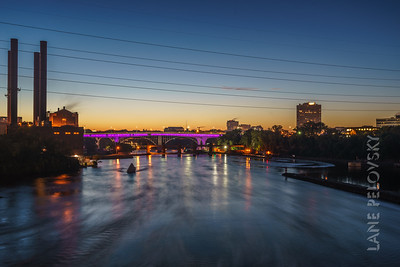 35W Bridge at Dusk
