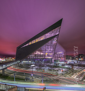 US Bank Stadium - Dramatic