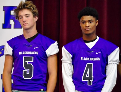The Oakland Activities Association held its fourth annual football media day at the Rochester Board of Education building on Friday, Aug. 4, 2017. (Photo gallery by Dan Fenner/The Oakland Press)