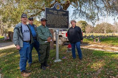 2812 Mobile Oaklawn Cemetery Neil Bruyn, Bill Atkeison Eddie Irby, Fran Barber