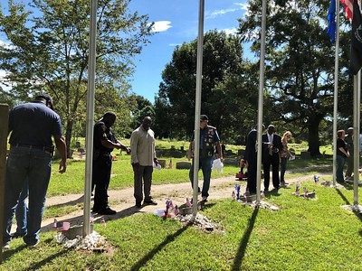 Sept 10, 2018 - Plaque unveiling and Flag Pole Dedication - e