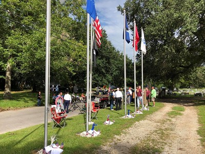 Sept 10, 2018 - Plaque unveiling and Flag Pole Dedication -a