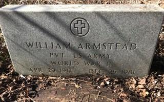 ARMSTEAD, WILLIAM
