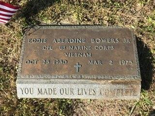 BOWERS, EDDIE ABERDINE JR