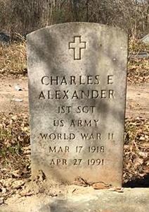 ALEXANDER, CHARLES E