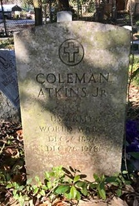 ATKINS, COLEMAN JR
