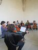 Student musicians, Santo Domingo museum
