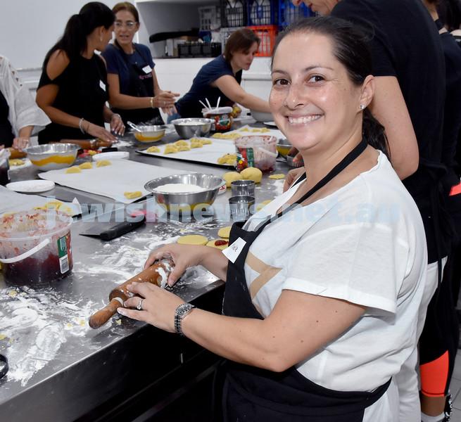 OBK Hamantashen Bake. Michelle Krutik. Pic Noel Kessel