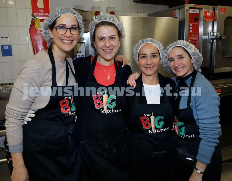 OBK Karma Cookup. Vanessa Schevelev, Marianna Atlas, Cathy Giesser, Lisa Baruch.