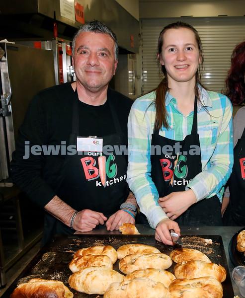 OBK Karma Cookup. George Karounis & Natalie Norman.