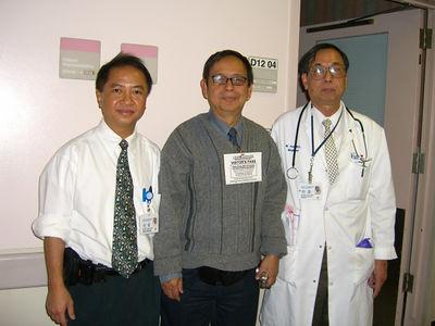 Saya Johnny, inside the hospital where both Dr Mg Yee and myself work photo credit: peter