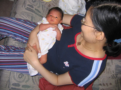 Willla Yamone Lim, 6 days old photo credit: Win Min Thinn