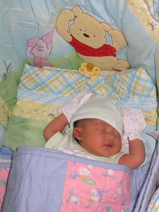Willla Yamone Lim, 5 days old photo credit: Win Min Thinn