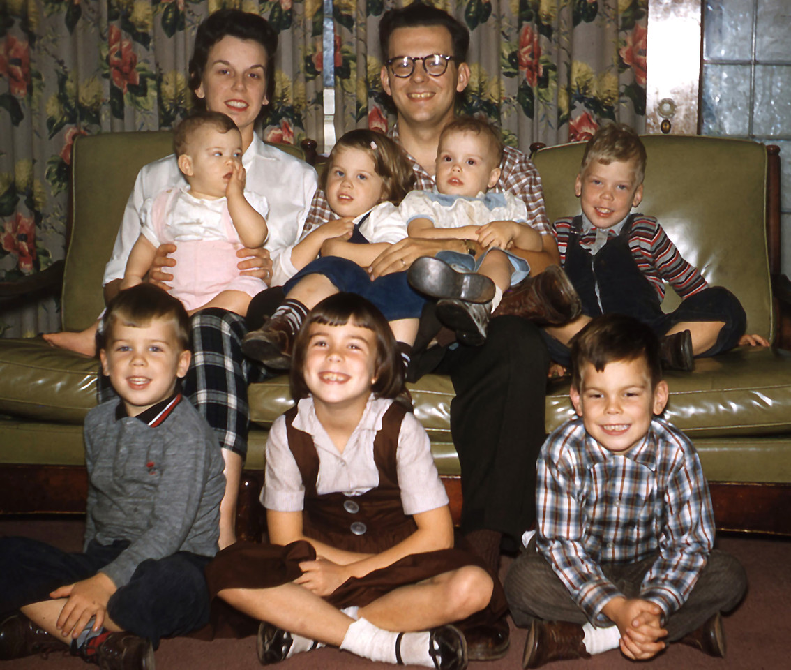 Left to Right  Back Row: Therese (Blaney) and James F. O'Brien Jr. Middle Row: Kathleen, Molly, Josie & Greg Front Row: Matthew, Beth and James F. O'Brien III