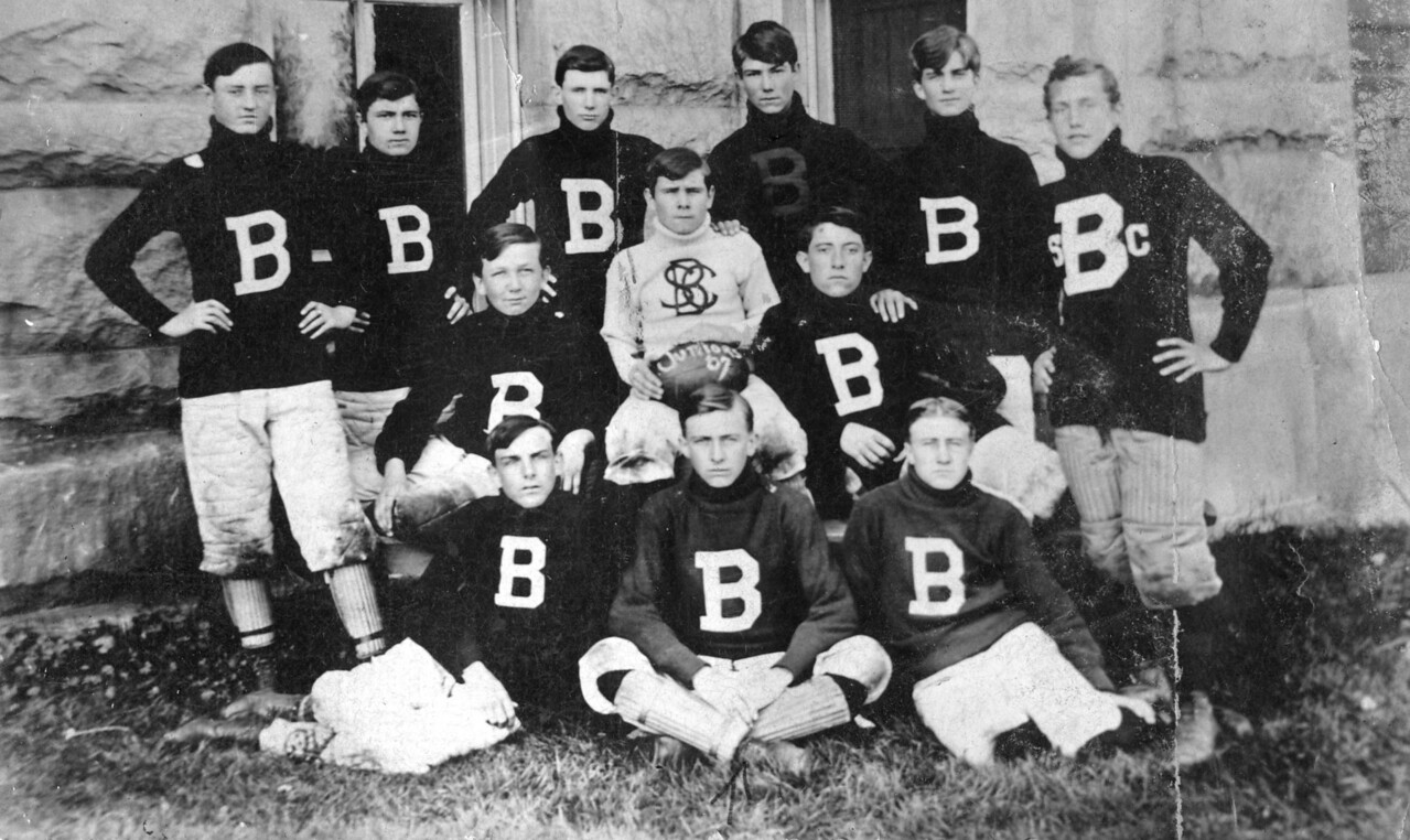Middle Left: Will O'Brien (Smiling) Middle Front: James F. O'Brien