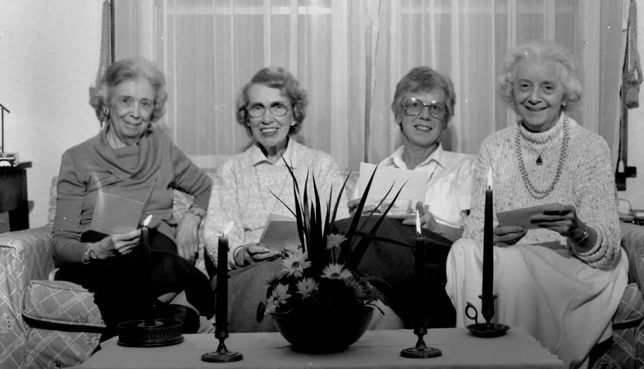 Mary F. Blaney, Peggy Blaney,  (Mom) Therese B. O'Brien and Anne Blaney