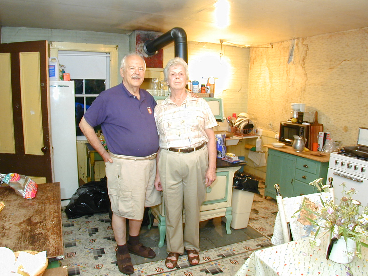 Mr. and Mrs. James F. O'Brien Jr. at the cottage
