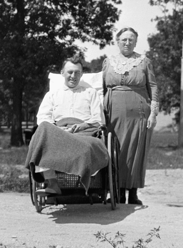 James F. O'Brien, Sr. and his Mother,Grandmother O'Brien