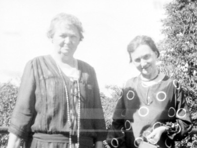 Grandma O'Brien ? and Aunt Agnes O'Brien