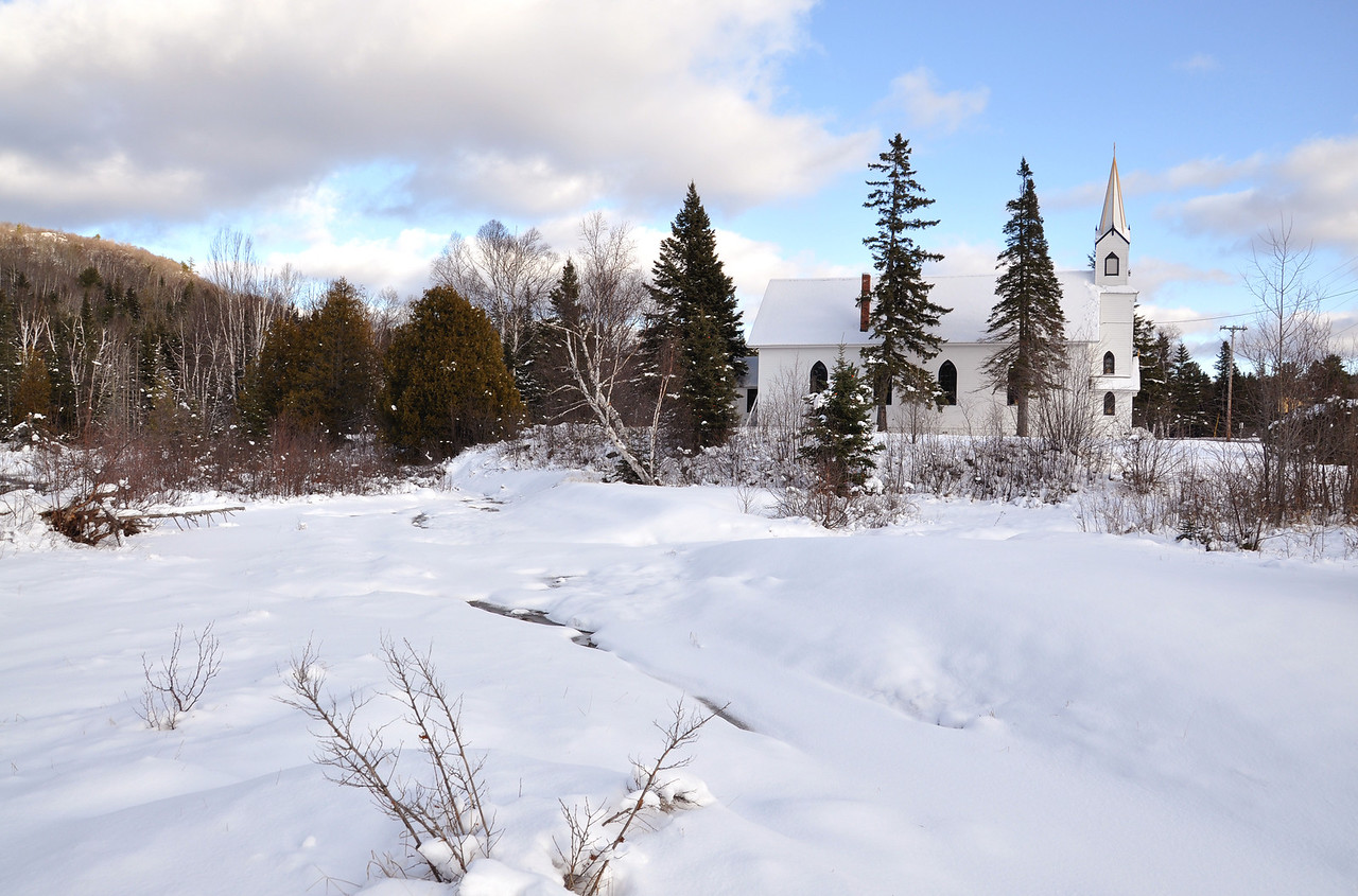Eagle River in Phoenix, Michigan December 6, 2011