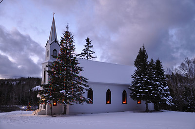 Old Church in Phoenix, Michigan December 6, 2011
