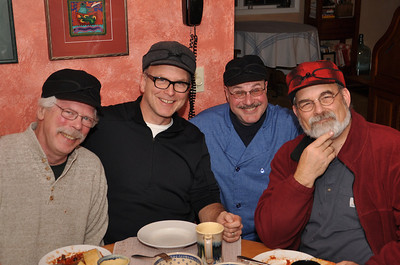 Left to Right Greg O'Brien, Bernie O'Brien, Art Stancher, Jim O'Brien