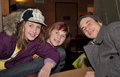 Sara O'Brien, Molly Johnson and Grant McFarland