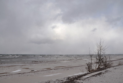 Lake Superior at Eagle River December 7, 20111