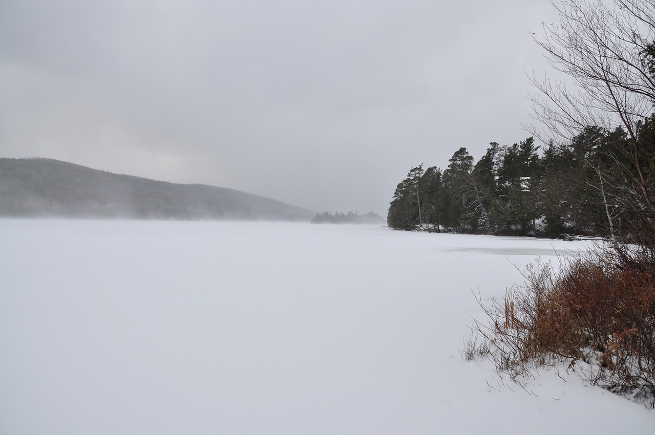 Approaching Storm on Lake Bailey On the way to Copper Harbor M-26 Eagle River December 7, 2011