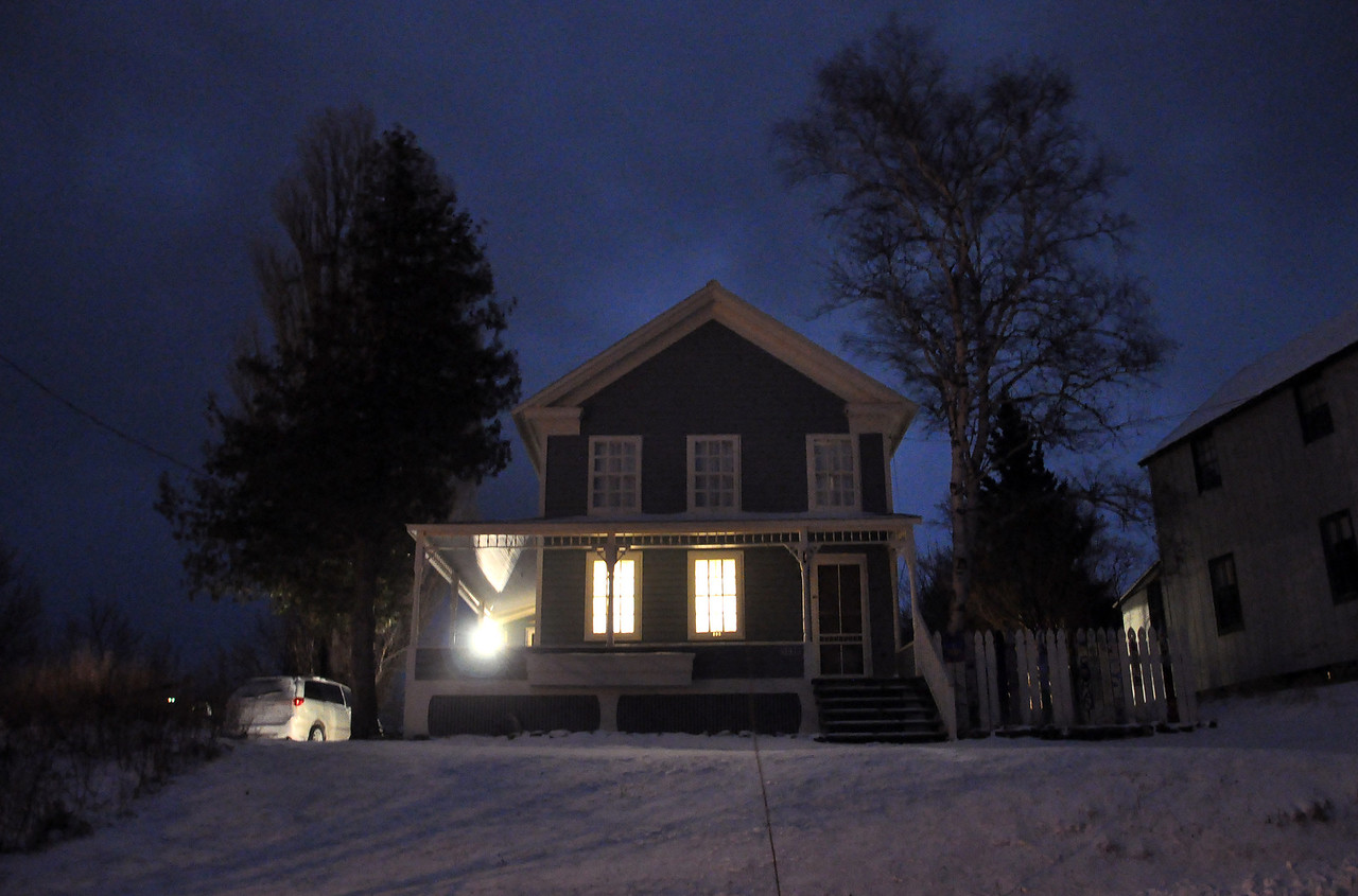 Nighttime.  The Cottage,  Eagle River, Michigan.